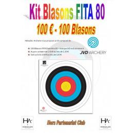 LOT DE 100 FITA 80 JVD