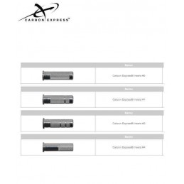 CARBON EXPRESS INSERT CHASSE