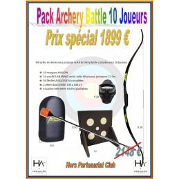 PACK ARCHERY BATTLE 10 JOUEURS