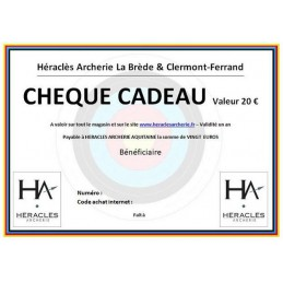 CHEQUE CADEAU HERACLES...