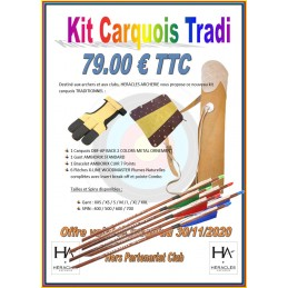 KIT CARQUOIS TRADITIONNEL