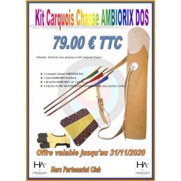 AMBIORIX KIT CARQUOIS CHASSE