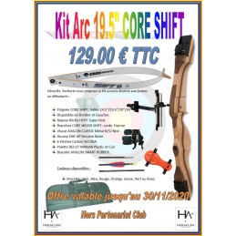 CORE KIT SHIFT 19.5""