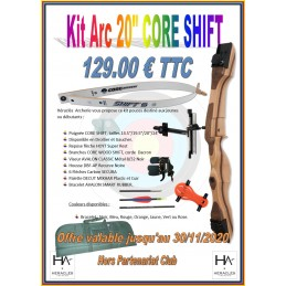 CORE KIT SHIFT 20""