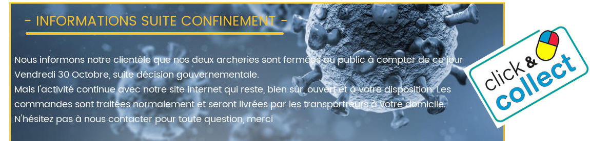 INFORMATIONS CONFINEMENT HERACLES ARCHERIE