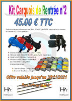 HERACLES ARCHERIE KITS PROMO RENTREE 2020 CARQUOIS FRANCE LIGNE CLUBS LA BREDE MENETROL KIT CARQUOIS NR 2 CLUBS