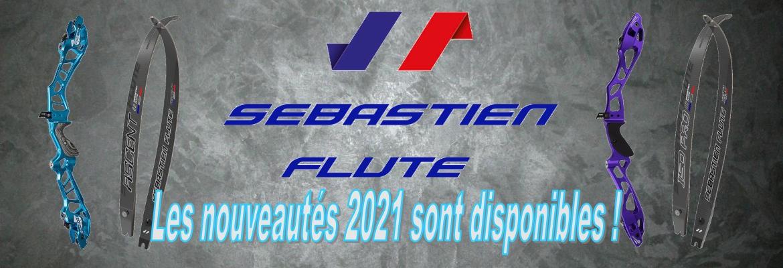 Venez découvrir les nouveautés SEBASTIEN FLUTE 2021 chez HERACLES ARCHERIE
