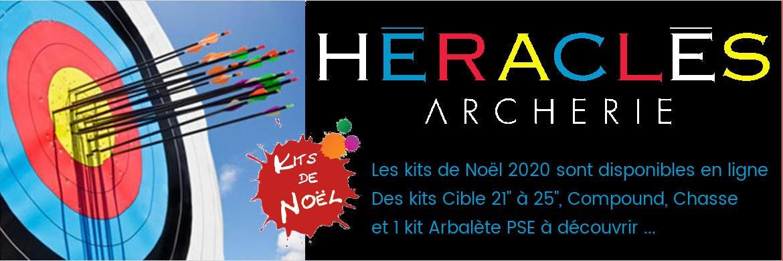 HERACLES ARCHERIE est fière de vous accueillir sur son site internet